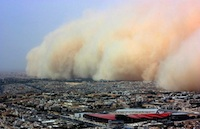 Dust and sandstorms a collective responsibility