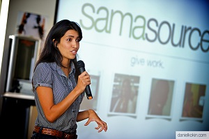 Leila Janah Founder And CEO Of Samasource