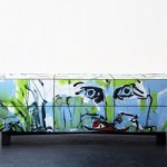 Tel Aviv graffiti made into sexy furniture