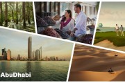 #InAbuDhabi New Destination Hashtag
