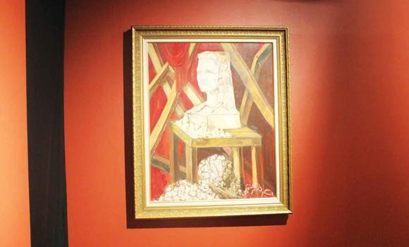 Saudi artworks dazzle at Hafez