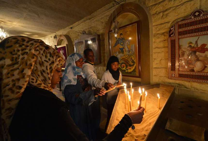 EGYPT-RELIGION-RELIGION-CHRISTIAN-COPT-CHRISTMAS