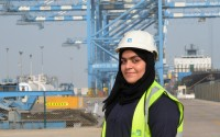 Meet the UAE's first female crane operator