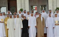 Shaikh Mansour honours winners of Emirates Award for Human Resources in the Federal Government