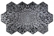 Mohammed Bozorgi's new artworks – a mix of calligraphy and scientific precision