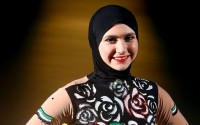 Desert odds for the ice princess Zahra Lari