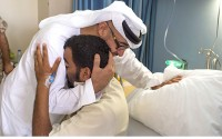 Heart-warming video of Mohammad Bin Zayed with injured soldier goes viral