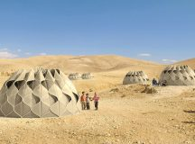 Innovative tent for refugees harnesses renewable energy