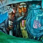 Qatari graffiti artists make their mark with new cultural installation