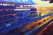 Artist Brent Benger set to capture Abu Dhabi Grand Prix action onto canvas