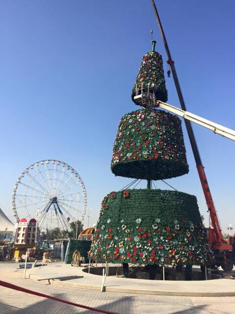 The Christmas Spirit Survives in Middle East High Conflict Zones