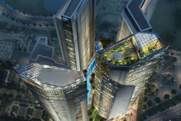 Sky-high garden project for Dubai Canal area