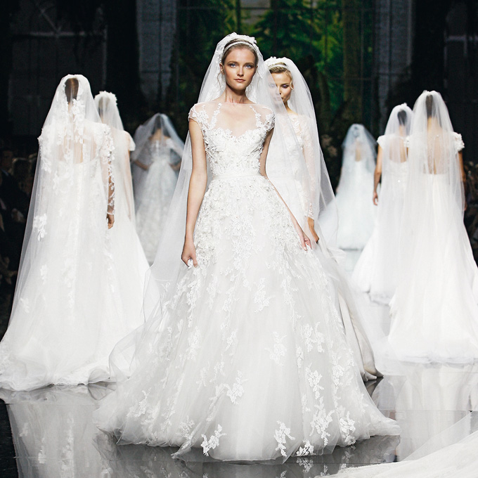 Elan elie saab is launching a bridal collection and its new elie saab wedding dresses spring 2013 004 junglespirit Images