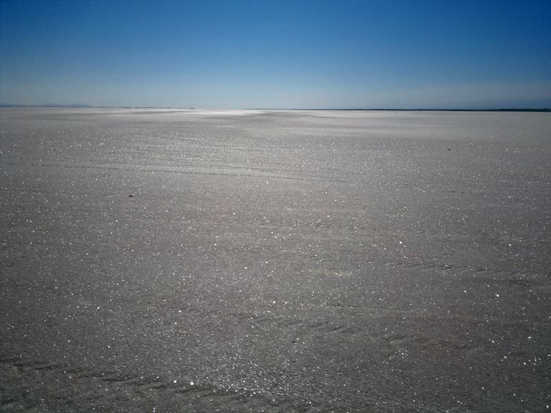 Lake Urmia by Yoosef Pooranvary. Own work. CC BY-SA 3.0