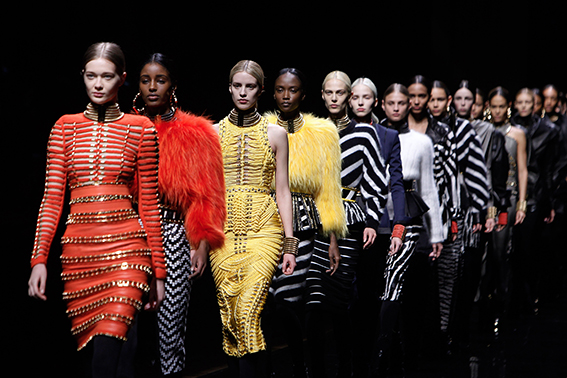 Qatar Fund Acquires French Fashion House Balmain