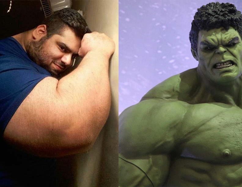 'The Iranian Hulk' Wants to be WWE'S Next Iron Sheikh… but first, he will Defeat ISIS
