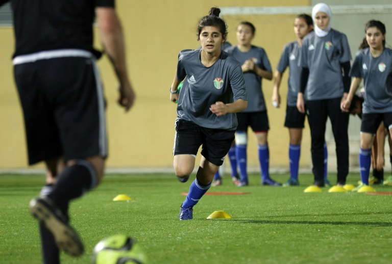 Jordan Girls Take to Football Pitch to End Stereotypes