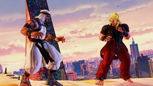First Look at Street Fighter V's Dubai Level