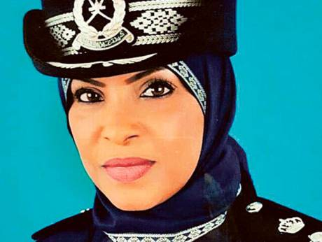 First woman to head police station in Oman