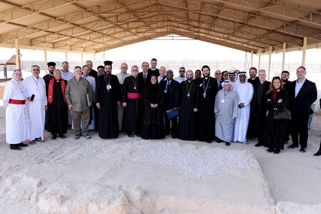 UAE Minister and clerics say monastery site in Abu Dhabi is a lesson in tolerance for all