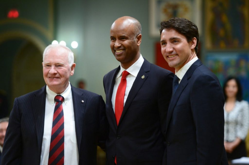 Former refugee Ahmed Hussen takes over Canadian immigration ministry