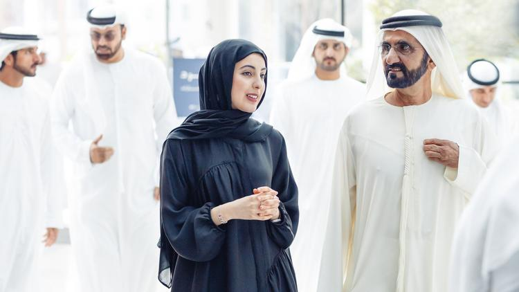 United Arab Emirates' 23-year-old minister of youth affairs has high aspirations for her peers