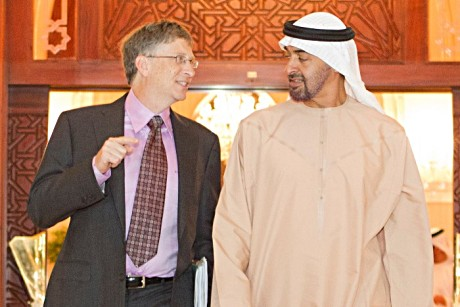 Gates agrees to contribute to Muslim development projects