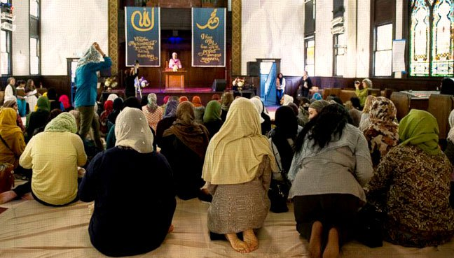 California Mosque led by Women Opens Doors to All