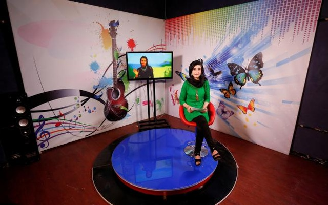 Afghan women break ground with TV station launch