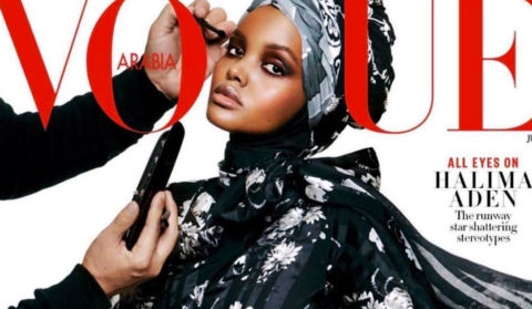 Hijab-Wearing Model Halima Aden Covers Vogue Arabia