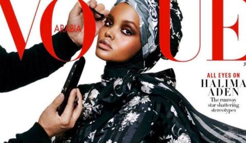 Hijab-Wearing Model Halima Aden Covers Vogue Arabia