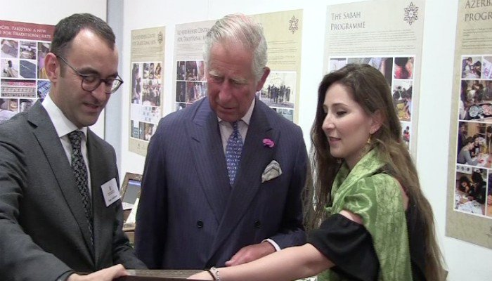 Prince Charles launches arts education project for Pakistan
