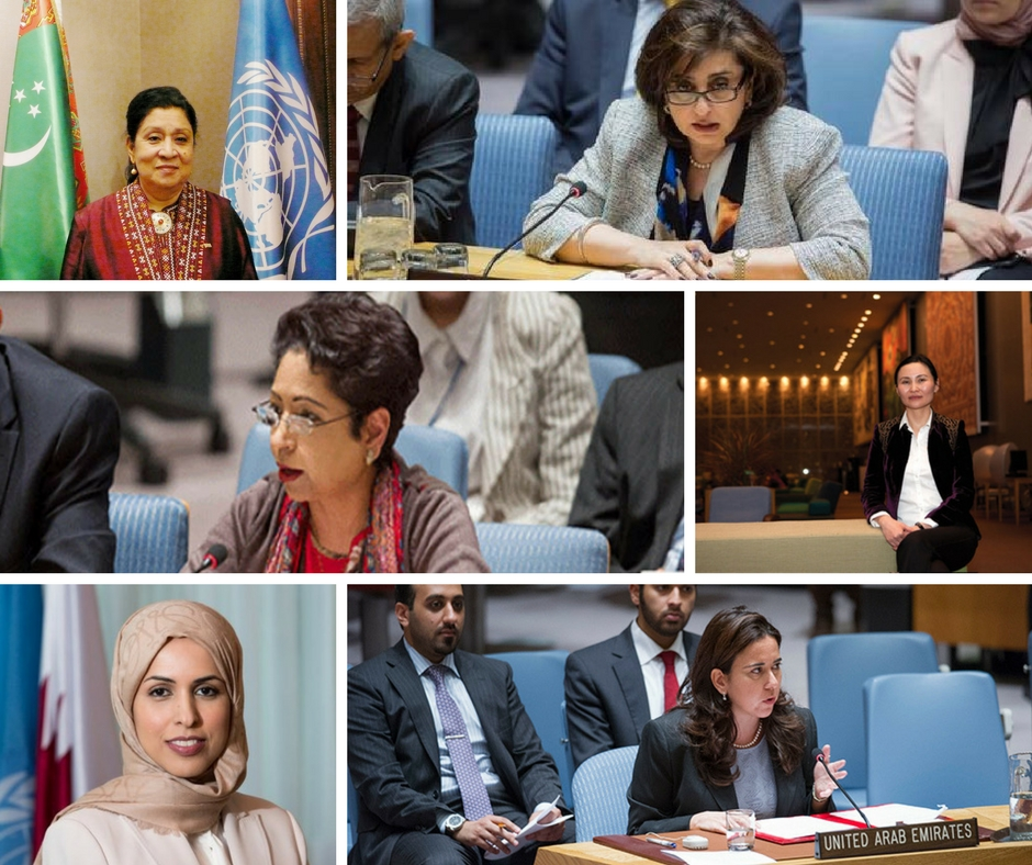 Six Powerhouse Arab and Muslim Women Shaking Things Up in the UN