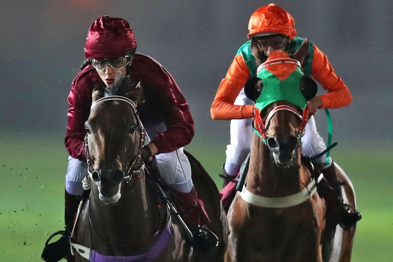 Qatari female jockey defies expectation and tradition, galloping into male-dominated world