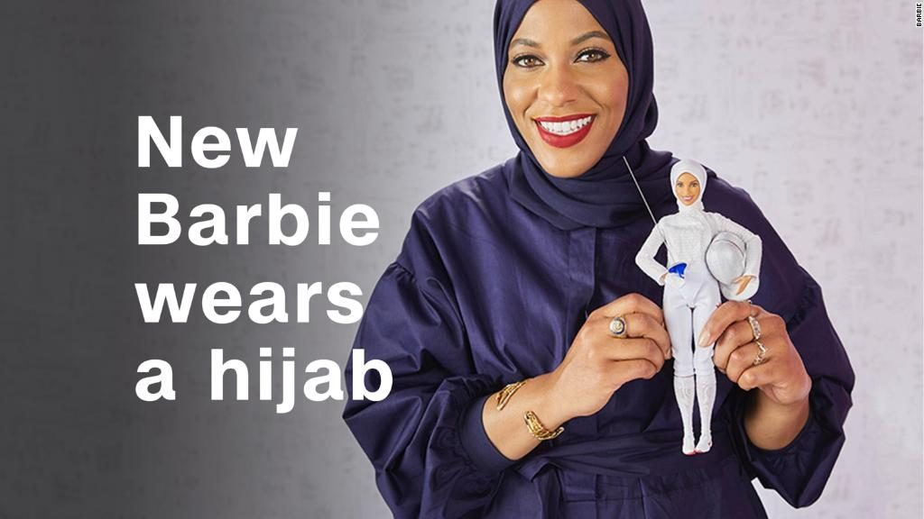 Barbie reveals first hijab-wearing doll inspired by trailblazing US fencer