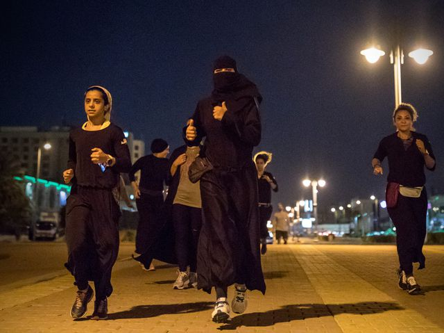 Defying a Cultural Taboo, Saudi Women Are Running—and They're Not Going to Stop