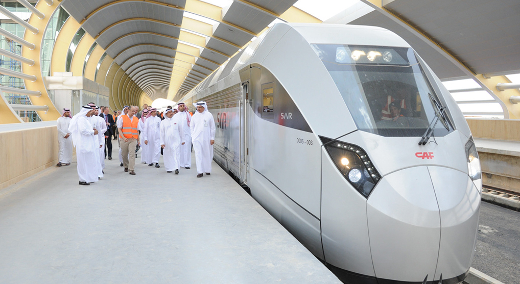 Saudi Arabia launches high-speed rail project
