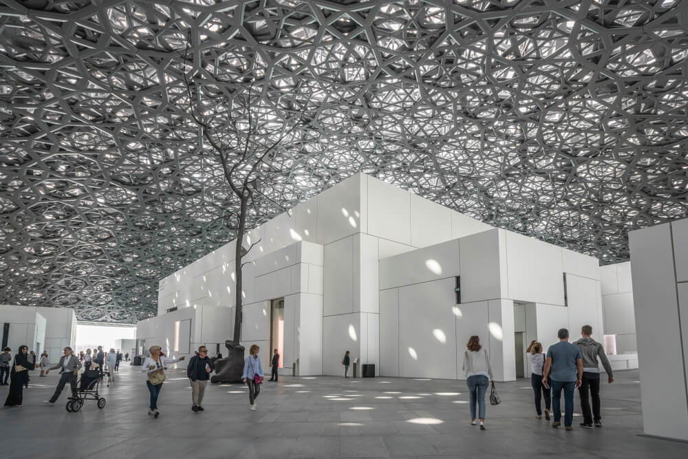 Louvre Abu Dhabi voted one of the 'seven urban wonders of the world'