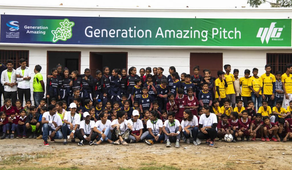 Generation Amazing launches First Football Pitch in India