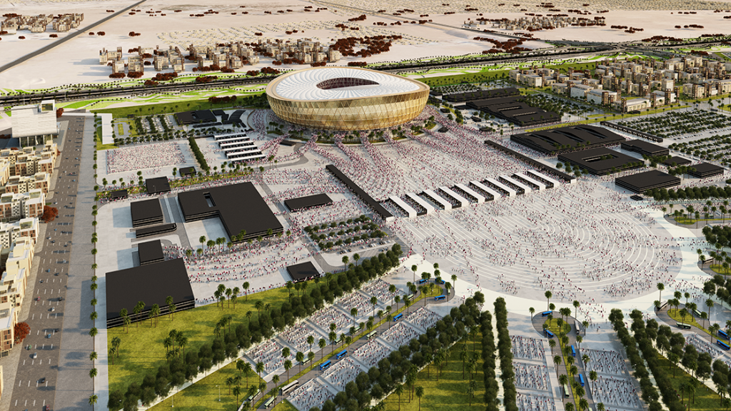 Lusail Stadium: Qatar reveals design for final venue of 2022 World Cup