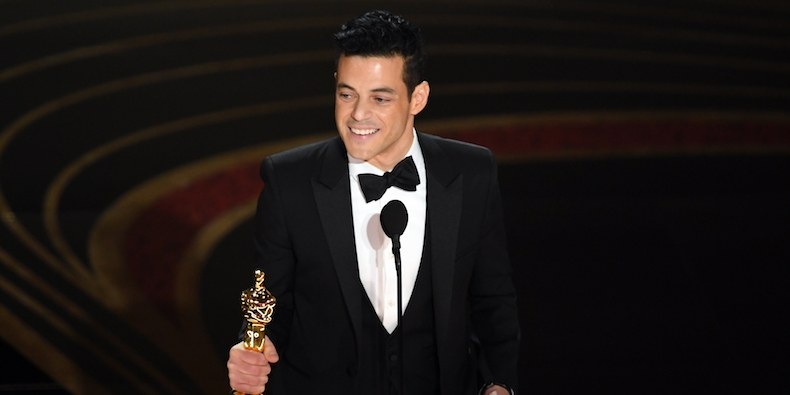 Rami Malek is first Egyptian-American to win lead actor award