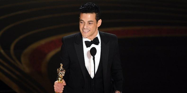 Rami Malek is first Egyptian-American to win lead actor award