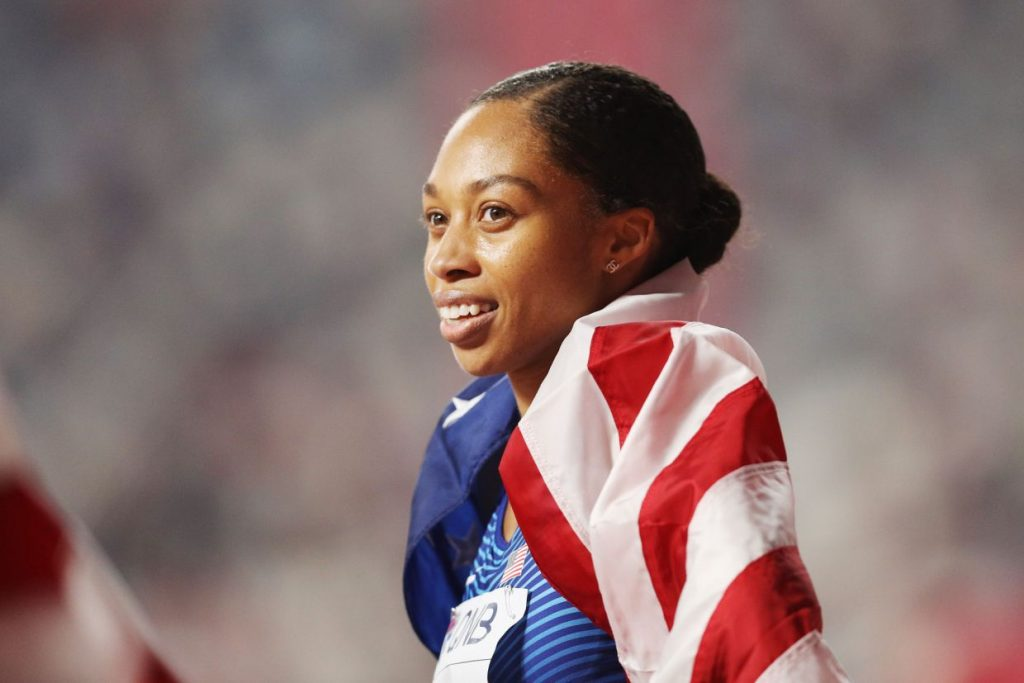 Allyson Felix Just Broke Usain Bolt's Record — 10 Months After Giving Birth at the IAAF World Athletics Championships Doha 2019